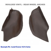 LAND CRUISER 75 SERIES TROOPIE MVF WHEEL ARCHES