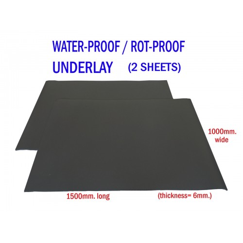 Water Proof Underlay - 2 Rolls of 1500 x 1000mm