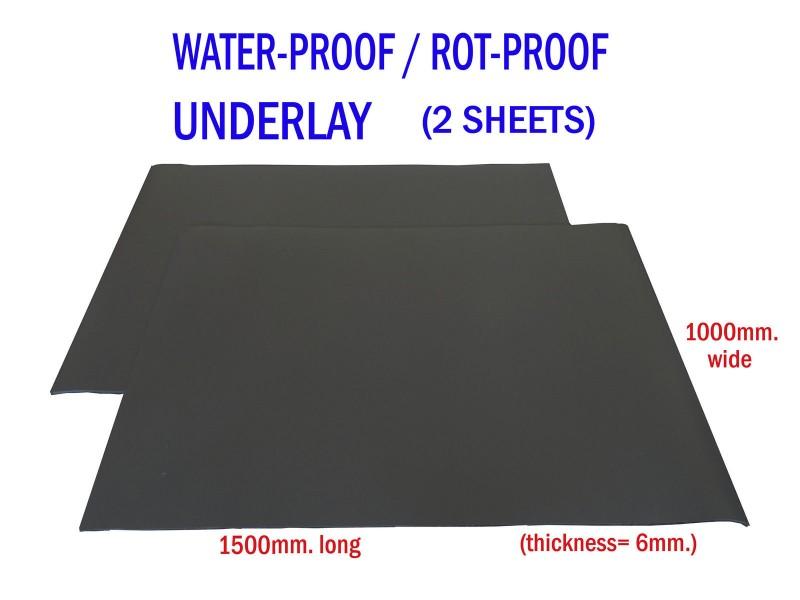 Water Proof Underlay - 2 Rolls of 1500 x 1000mm