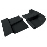 Ford Courier 1998 - 2006 Extra cab front & rear Moulded Vinyl Flooring