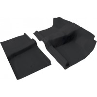 Nissan Navara D22 single cab moulded front and rear under seat section vinyl