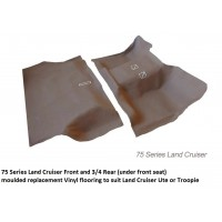 Toyota Land Cruiser 75 Series MVF Front & Rear