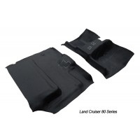 Ford Courier 1998 - 2006 dual cab front & rear Moulded Vinyl Flooring