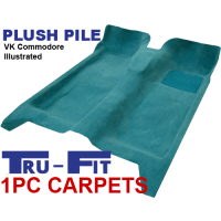 Holden Commodore VB, VC, VH, VK 1978 - 1985 1Pc Moulded Carpet Kit in Plush Pile