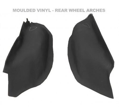 Nissan Patrol GQ long wheel base moulded vinyl wheel arches
